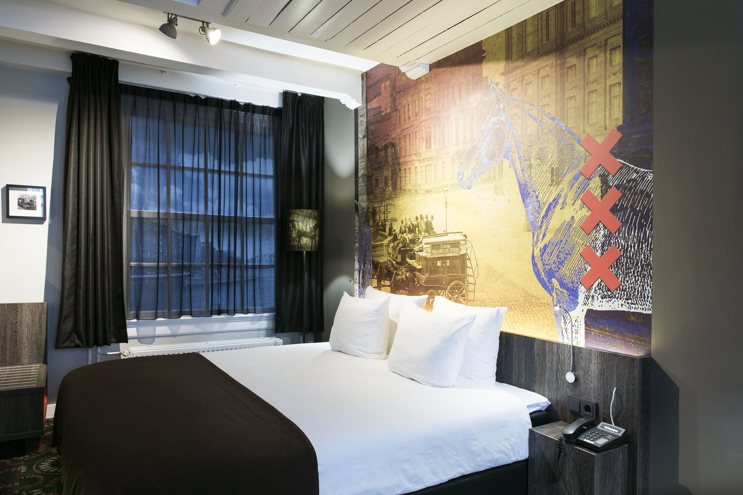 The 218 Modern Hotel Rooms Of The Eden Hotel Amsterdam Are Designed To  Ensure A Pleasant Stay.