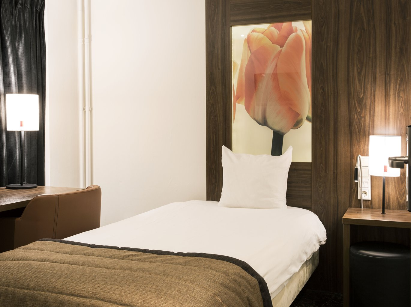 Small Twin Or Double Room Eden Hotel Amsterdam